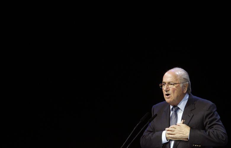 Joseph Blatter se definiu como