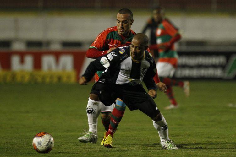 Portuguesa recebeu o ABC no Canindé e realizou um duelo cheio de gols