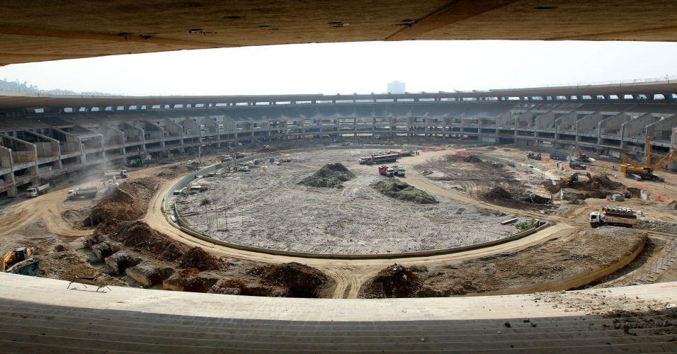 Vista da Torre de Vidro, aberta aos turistas