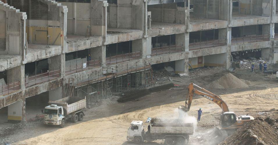 Arquibancadas do Maracanã estão sendo totalmente reformuladas