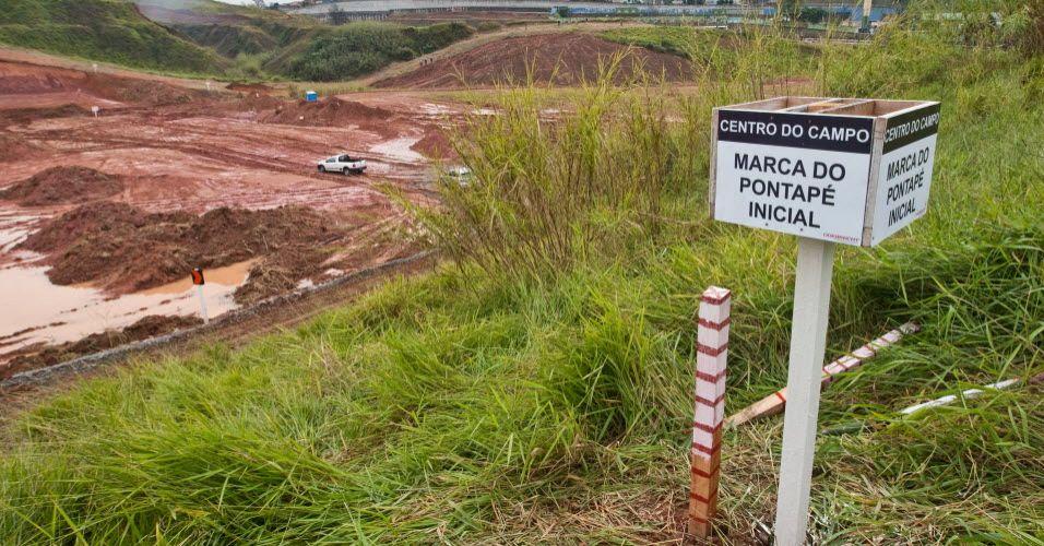 Construção do estádio do Sport Club Corinthians Paulista em Itaquera