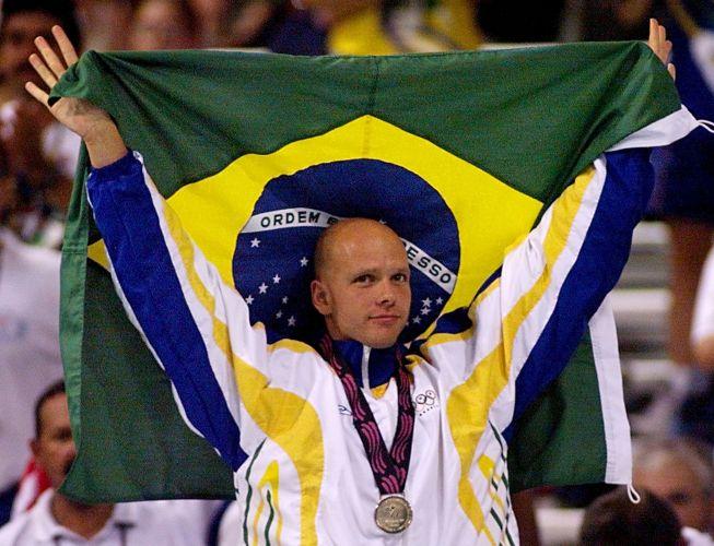 Fernando Scherer, o Xuxa - É dono de dez medalhas pan-americanas (sete ouros, duas pratas e um bronze). Em Winnipeg-1999 deixou o torneio no Canadá com quatro títulos (50 e 100 m livre e nos revezamentos 4x100 m livre e 4 x 100 m medley)