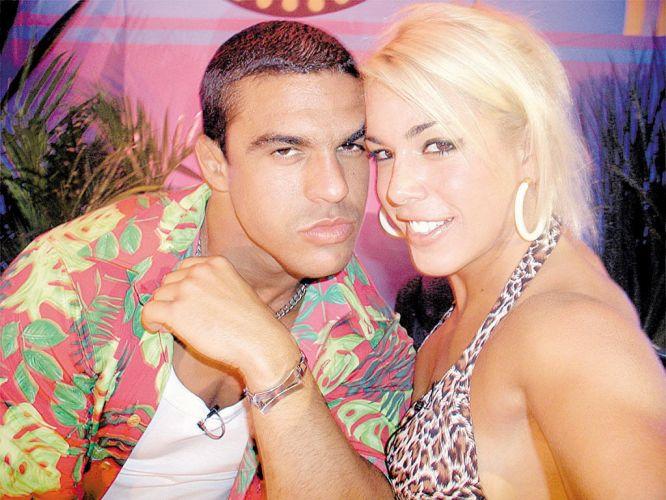 Belfort e Joana ficaram famosos como casal pela participação na
