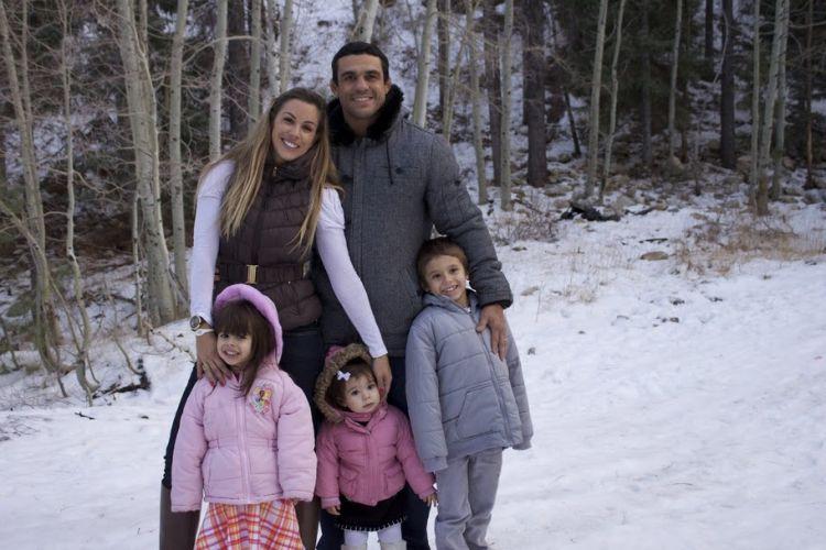 Vida nos EUA é mais tranquila para o casal e os filhos, tanto que Joana é quem assumiu o papel de dona de casa