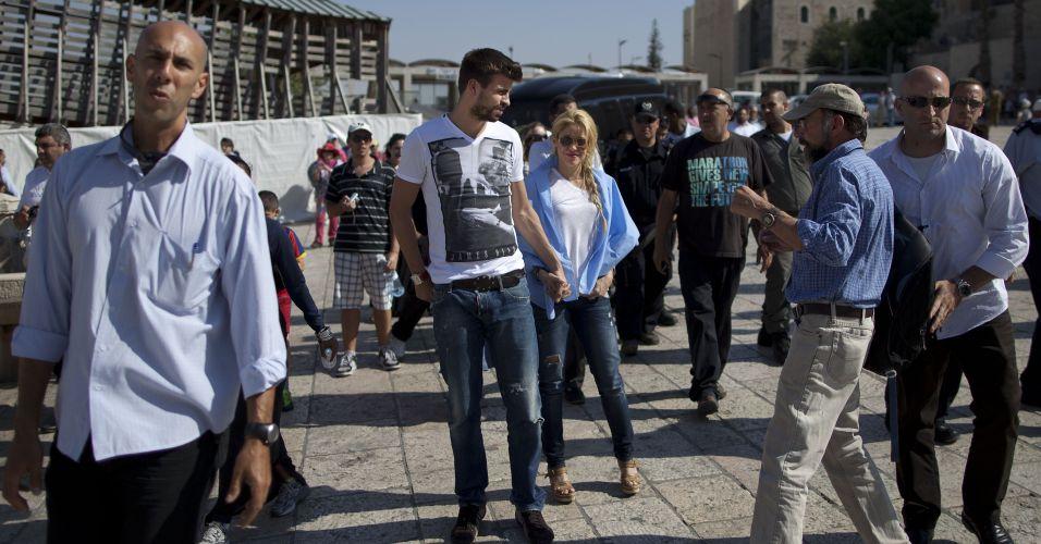 O casal foi convidado de honra do presidente de Israel, Shimon Peres, para a conferência ?Enfrentando o Amanhã? em Jerusalém. O encontro discute estratégias para preservar e desenvolver as crianças do mundo todo