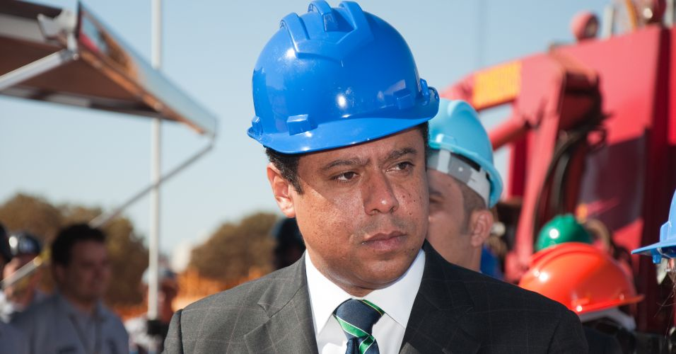 O ministro do Esporte, Orlando Silva, disse que ficou impressionado com o andamento da obra