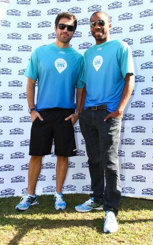 Pedro (Eriberto Leão) e André (Lázaro Ramos), da novela da TV Globo