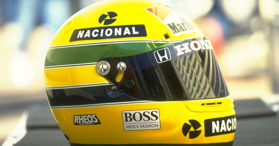 Tricampeão mundial de F-1, Ayrton Senna teve o seu capacete pintado por Sid Mosca, que considerava o desenho a sua maior obra