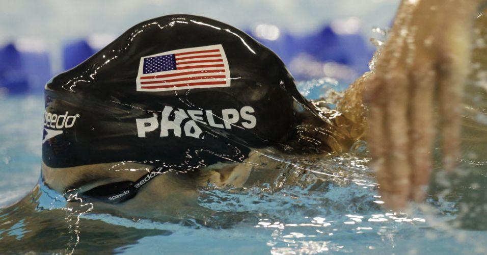 Norte-americano Michael Phelps lidera primeira parte da prova dos 200 m livre antes de ficar com a prata em Xangai