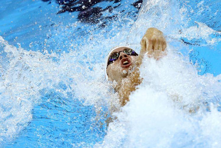 Thiago Pereira avançou às semifinais dos 200 m medley com o melhor tempo das eliminatórias, ao registrar 1min57s82