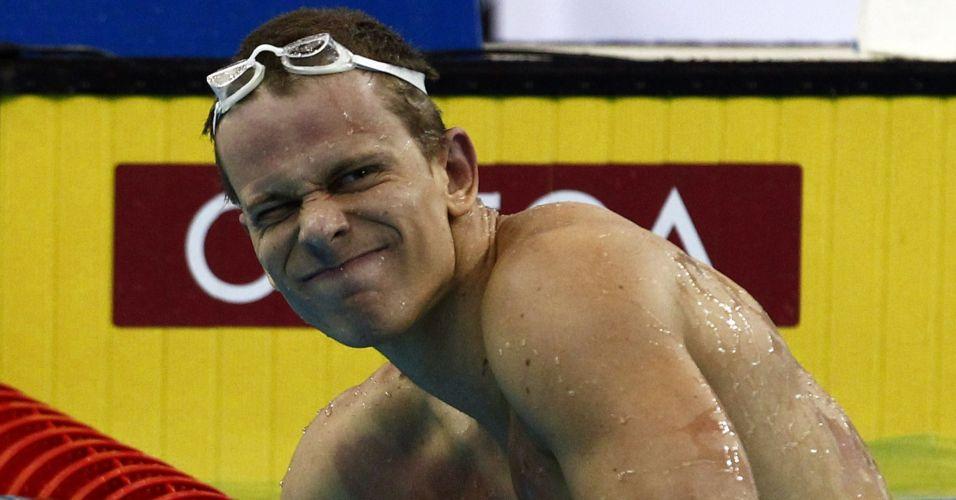 Cielo lamenta após terminar em 4º lugar nos 100 m em Xangai