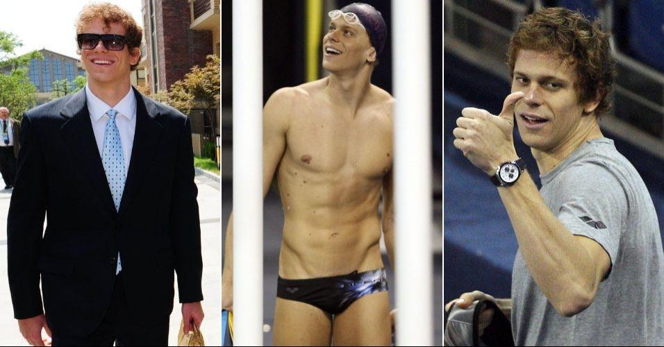 Cesar Cielo - principal estrela brasileira, nadador de Santa Bárbara D'oeste sai do Mundial com ouros no 50 m borboleta e 50 m livre e um quarto lugar nos 100 m livre