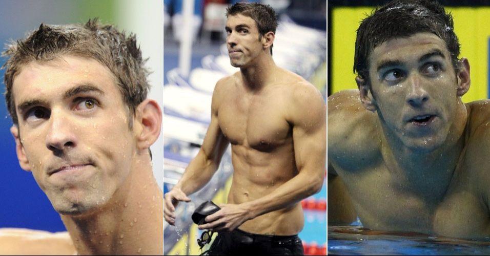 Michael Phelps - norte-americano dispensa apresentações. Mas neste Mundial foi ofuscado por Lochte. Mesmo assim, foi penta nos 200 m borboleta e tri nos 100 m borboleta