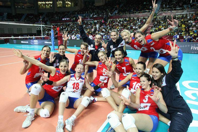 Sérvia vence Rússia por 3 a 0 e termina o Grand Prix na terceira colocação
