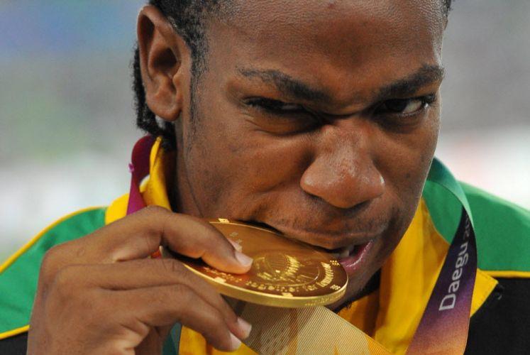 O novo Bolt? Aos 21 anos, Yohan Blake já afirmou que pretende ser apenas o novo Yohan Blake. No Mundial na Coreia do Sul, ele aproveitou o erro do compatriota Bolt e ficou com o ouro na disputa dos 100 m