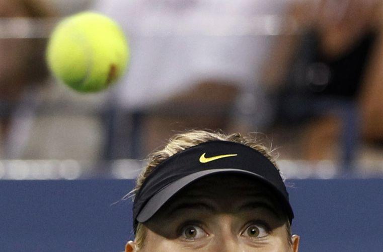 Após estreia ruim, Maria Sharapova deslanchou na segunda rodada do US Open e não deu chances para Anastasiya Yakimova