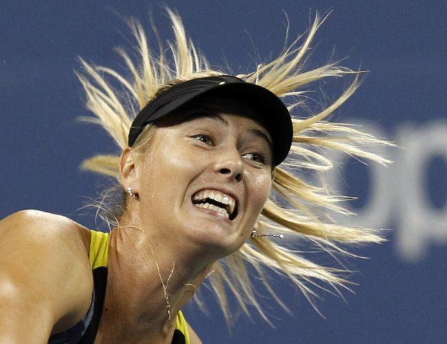 Maria Sharapova eliminou Anastasiya Yakimova por duplo 6-1 e já está na terceira rodada do Aberto dos Estados Unidos