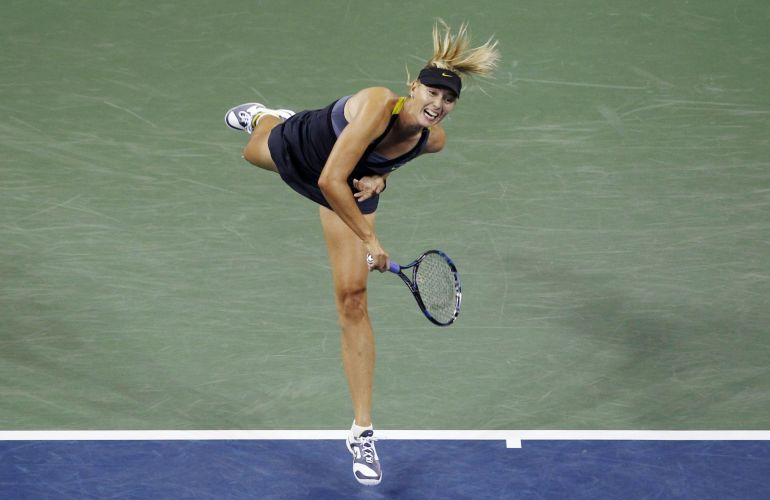 Maria Sharapova conseguiu vitória fácil na segunda rodada do US Open; musa russa atropelou Anastasiya Yakimova