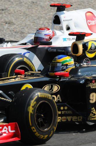 Bruno Senna terminou o GP da Itália na nona posição e somou seus primeiros pontos na Fórmula 1