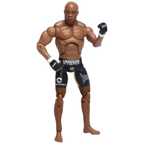 Site brasileiro iniciou a venda de uma nova série de bonecos do UFC, como o de Anderson Silva. As oito réplicas, como a do campeão dos médios, têm detalhes específicos de cada lutador, como no caso do calção preto e amarelo do Aranha. O site Netshoes anuncia a venda dos bonecos a R$ 59,90