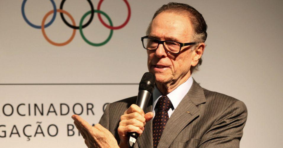 O presidente do Comitê Olímpico Brasileiro (COB), Carlos Arthur Nuzman, apresentou nesta sexta-feira os uniformes que os atletas brasileiros usarão nos Jogos Pan-Americanos de Guadalajara