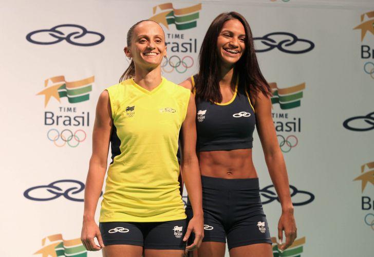 Segundo a Olympikus, fornecedora do Time Brasil, toda a coleção foi produzida em 60 dias. Todos os modelos levam o símbolo do Time Brasil e da marca esportiva