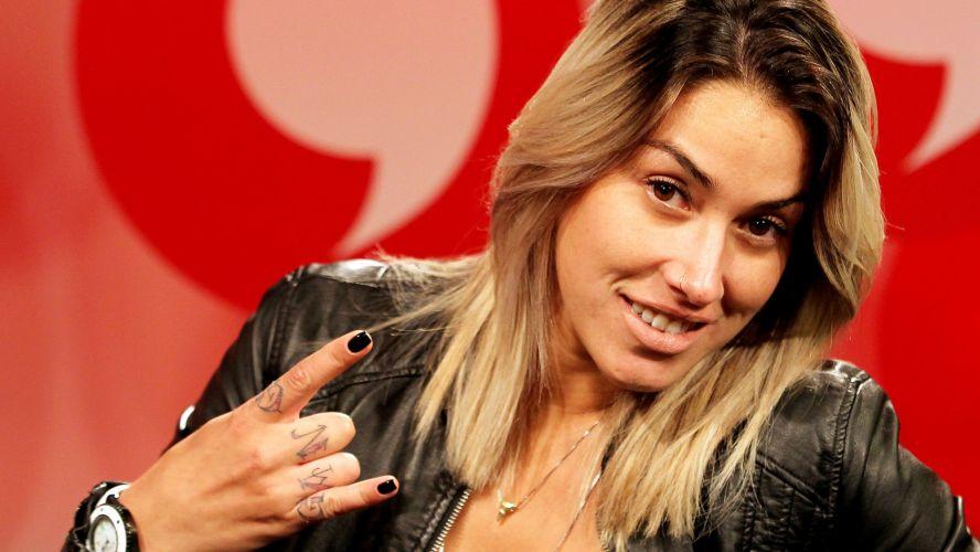 Dani Bolina é uma das ex-namoradas do jogador Adriano, atacante do Corinthians