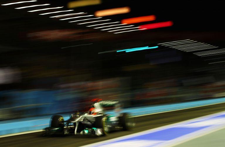 Michael Schumacher fez o sexto melhor tempo nesta sexta-feira (23) nos treinos livres para o GP de Cingapura