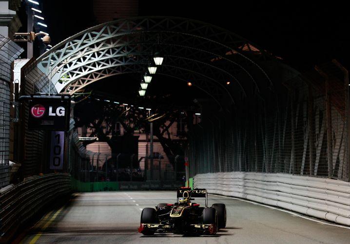 Bruno Senna, da Renault, largará em 15º lugar no GP de Cingapura