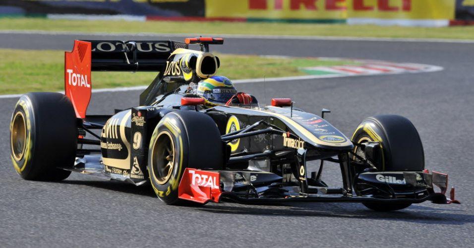 Bruno Senna consegue se garantir no Q3 para largar na nona colocação no Grande Prêmio do Japão
