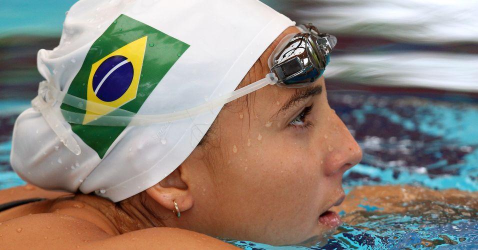Gabriela Rocha é uma das nadadoras que representará o Brasil no Pan