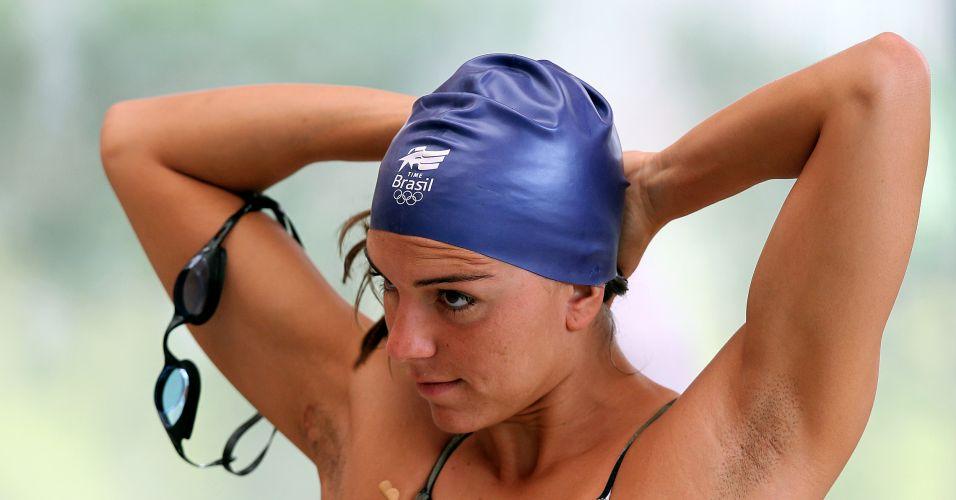 Recordista sul-americana (nos 200m costas), Fernanda Alvarenga vai para seu segundo Pan