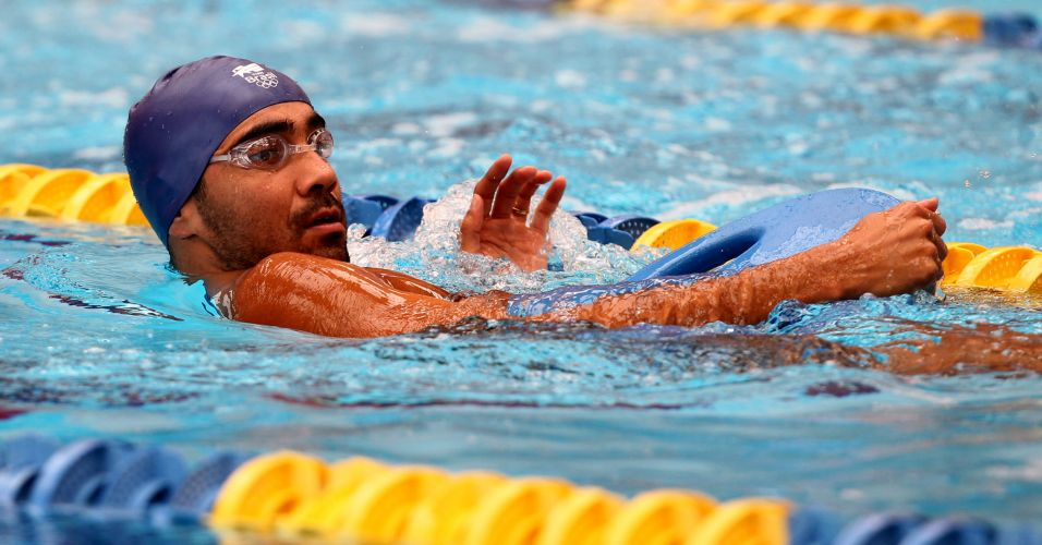 Diogo Yabe tem uma Olimpíada (Atenas-2004) e dois Pans (2003 e 2007) no currículo e é um dos nome mais experientes da equipe brasileira de natação
