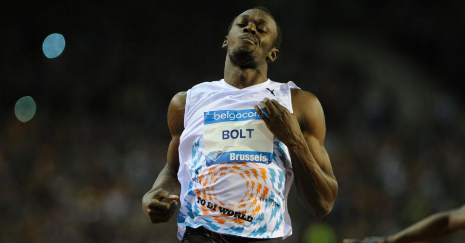 Usain Bolt, recordista olímpico dos 100m livre, esteve em agosto no Mundial de Daegu e agora está focado em Londres-2012