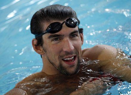 Michael Phelps disputou o Mundial de Xangai recentemente e preferiu iniciar sua preparação para os Jogos Olímpicos de Londres