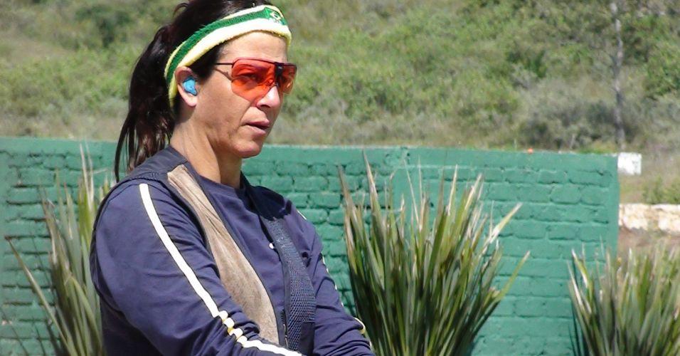 Janice Teixeira tem 49 anos e já disputou o Pan de 2007, no Rio de Janeiro. Ela ficou em quinto lugar