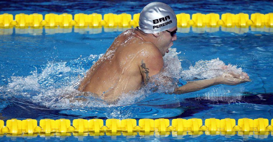 Thiago Pereira vence a prova dos 400m medley para conquistar o primeiro ouro brasileiro nos Jogos Pan-Americanos de Guadalajara