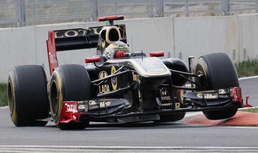 Bruno Senna teve desempenho discreto no GP da Coreia do Sul e foi o 13º colocado