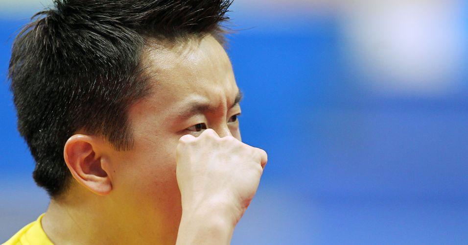 Tsuboi comemora a vitória por 3 sets a 0 no primeiro duelo contra a equipe argentina