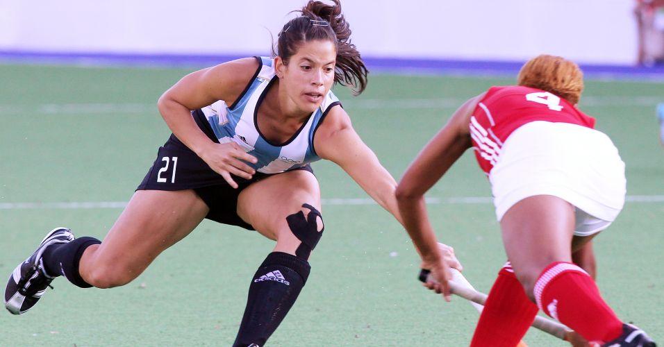 Seleção feminina de hóquei na grama da Argentina estreou no Pan com vitória sobre Trinidad e Tobago por 11 a 0