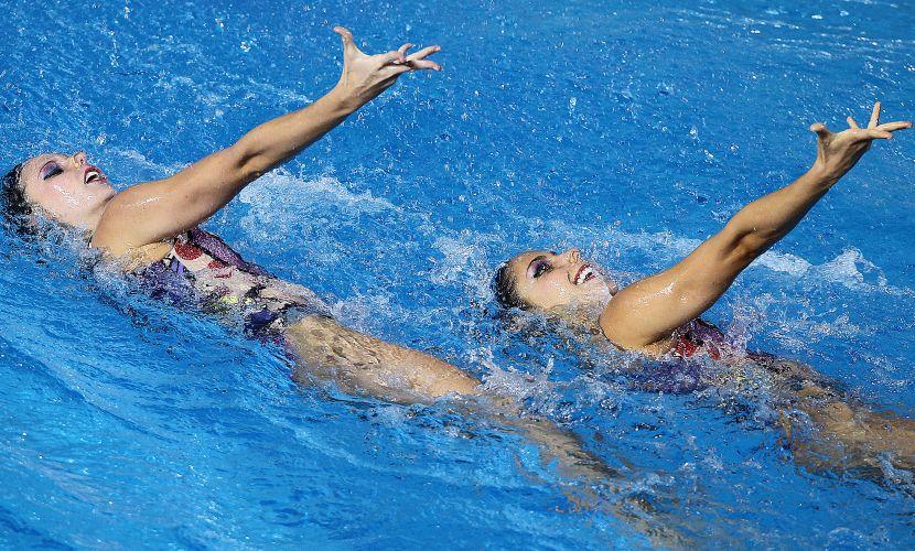 Lara e Nayara conseguiram a pontuação de 88.500 pontos em Guadalajara