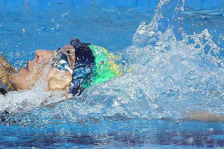 Brasil saiu da piscina sem ouros nesta terça-feira, com a prata do revezamento 4 x 200 m e os bronzes de Thiago Pereira e Joanna Maranhão