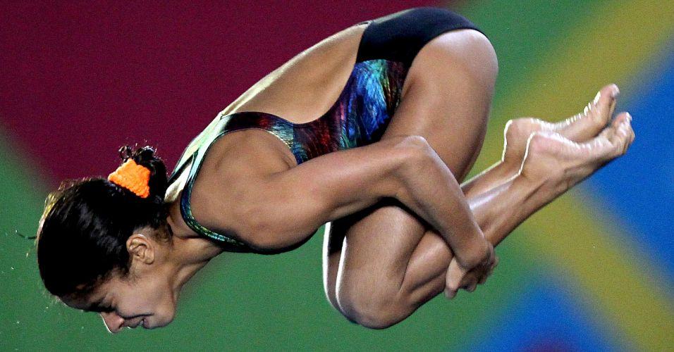 Andressa Mendes passou para a final da plataforma de 10 m na 10ª colocação