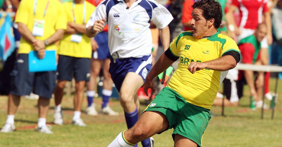 Seleção brasileira de rúgbi perdeu para o Canadá por 45 a 0 na estreia em Guadalajara