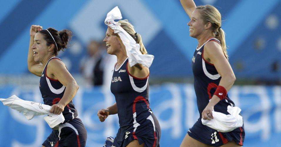 Os Estados Unidos venceram as Leonas argentinas na final, por 4 a 2, e levaram o ouro no Pan