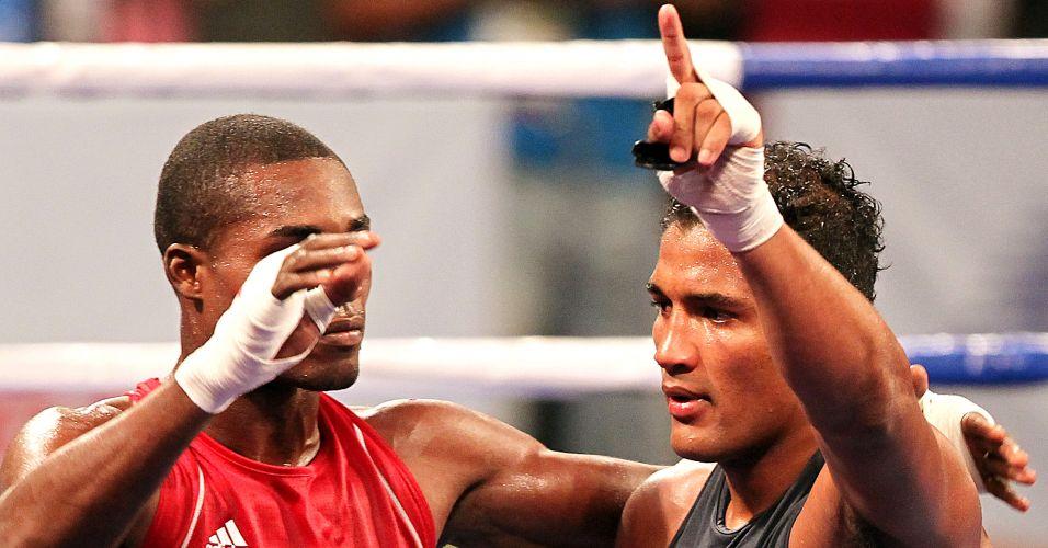 Yamaguchi Falcão acabou perdendo para o cubano Julio Cesar La Cruz, e ficou com a prata