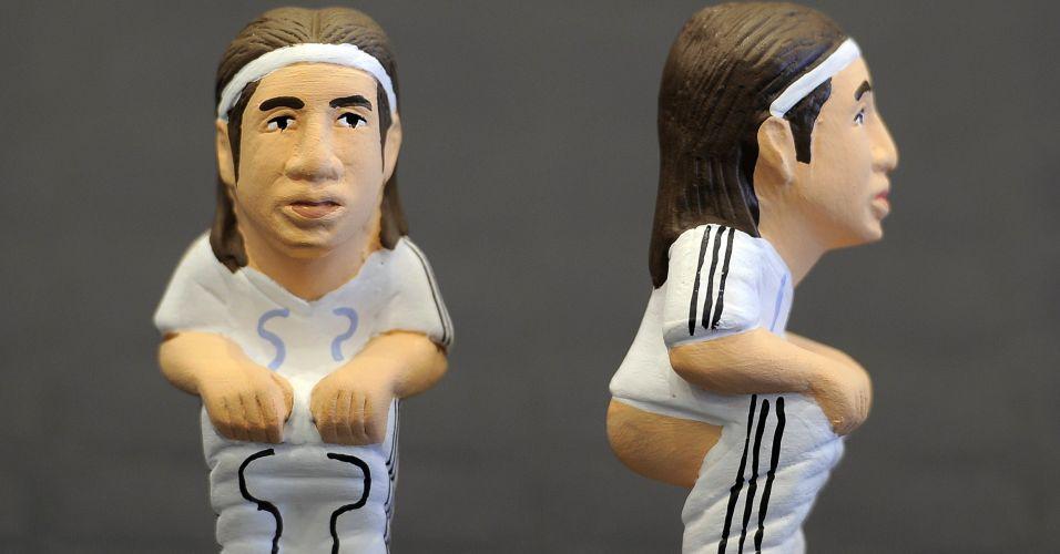 ... e o defensor Sergio Ramos. Apesar de serem jogadores do arquirrival do Barcelona, Casillas e Ramos também integram a seleção espanhola