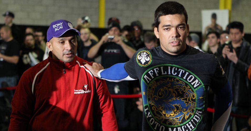 Lyoto Machida vem de vitória contra Randy Couture para o UFC 140 e encara o campeão Jon Jones