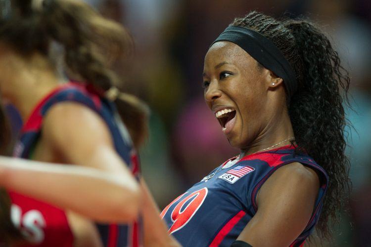 Aos 24 anos, Destinee Hooker é uma das principais apostas da seleção americana para os Jogos Olímpicos de Londres-2012