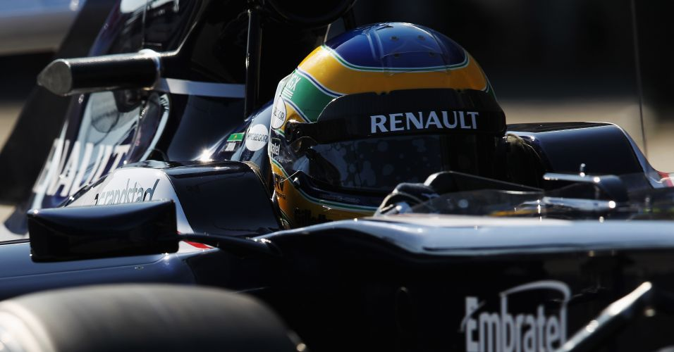 Bruno Senna deve voltar a testar a Williams na sexta-feira